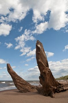 Lake Superior, Wisconsin.  Went to one of the beaches there on our way back from Canada.  Beautiful lake!