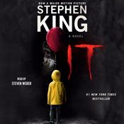 I finished listening to It (Unabridged) by Stephen King, narrated by Steven Weber on my Audible app. Try Audible and get it free.