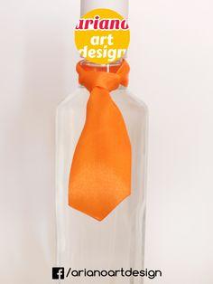 Krawat na butelkę wiązany, wódkę 5 szt zawieszki weselne PL Whisky, Alcohol, Whiskey