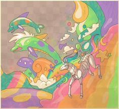 Beautiful Robot Unicorn Fanart!