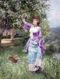 Spring Blossoms - Henry John Yeend King