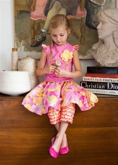 Tralala French Tulip Skirt Set.  Only 12 mos. & 18 mos. sizes left!!  Follow me for more!!