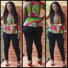 African Sweetheart: Style: Ankara, Kente & I- How To Look Effortlessly Glamourous In Casual African Prints