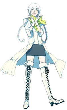 Fem Clear from DRAMATical Murder. I didn't realize he could get any cuter.
