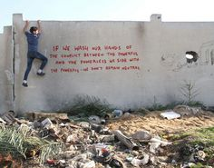 Banksy - If We Wash Our Hands