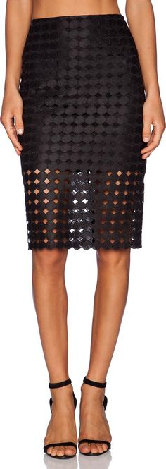 Cesar Pencil Skirt. Cotton blend. Skirt measures approx 26 in length. Fully lined. Embroidered lace fabric. Hidden back zipper closure. AXIS WQ9. Cesar. A luxurious clothing line born out of Miami and brain child of designer Alexis Barbara#Alexis #Black #Pencil Skirts #RevolveClothing #Women #fashion #obsessory #fashion #lifestyle #style #myobsession #skirt #skirtfashion #womeninfashion #designer #fashiondesigner #luxury #fashionbrand #ss17