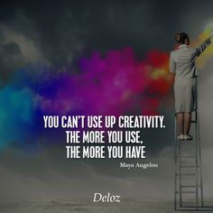You can't use up creativity. The more you use, the more you have #deloz #successquotes #tbt #success #positivethinking #positivevibes#quotessoftheday #like4like #motivationalquotes #quotess #entreprenship #entreprenshipquotes #business #instagram #instagoods #luxury #luxurylife #tagafriend #billionairelife #inspired #inspirationalquotes #beautiful #inspirational #hardwork #startupslife #startups #life #lifequote