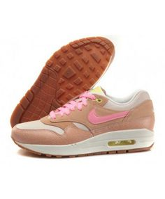 new styles 4b90c d688c Women s Nike Air Max 1 Running Shoes Dusted Clay Pink Sale
