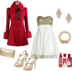 """Christmas Party"" by sageflower on Polyvore"