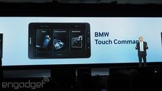 BMW loves the idea of letting you control your car from mobile devices. | #cars #BMW #CES2015 #mobile #tablets