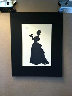 Disney The Princess and the Frog Silhouette. $15.00, via Etsy.