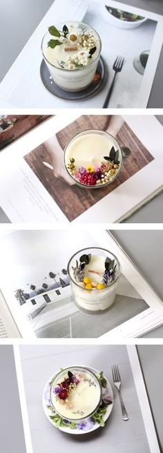 #candle #dried-flower