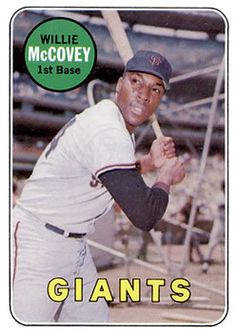 1969 Topps #440b Willie McCovey Front