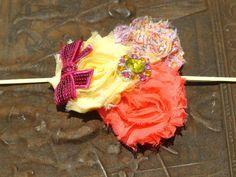 Vintage Style Pink Shabby Chic Flower Lemonade by MiyahsCloset, $8.99