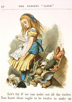 John Tenniel  'The Nursery Alice' - The British Library
