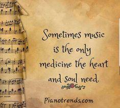 Sometimes Music Is the Only Medicine the Heart and Soul Need – Tiny Buddha Manchmal ist Musik die einzige Medizin, die Herz und Seele brauchen. Soul Quotes, Music Quotes, Words Quotes, Life Quotes, Qoutes, Heart Quotes, Violin Quotes, Music Sayings, Monday Quotes