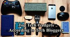 To find out which tech gadgets are hot and popular among tech ladies and gentlemen who lead the tech information world, we asked them what their most favorite tech gadgets are.
