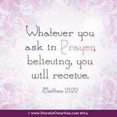 MATTHEW  21:22 Fighting Cancer - Ewing's Sarcoma  #life4rebeca   www.Life4Rebeca.com