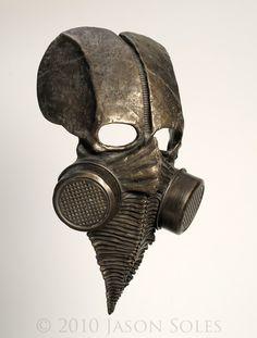 ɛïɜ Cenotaph Mask ~ The Art of Jason Soles ɛïɜ
