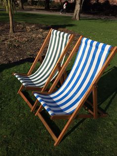 Anywhere Deck Chairs out in the glorious sunshine