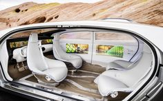 2015 Mercedes Benz F 015 Luxury Car HD Wallpaper - StylishHDWallpapers