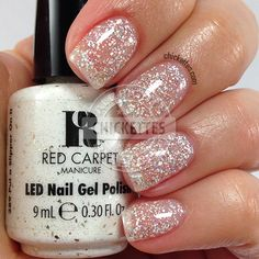 Red Carpet Manicure Cinderella Collection - Put a Slipper On It - swatch by Chickettes.com