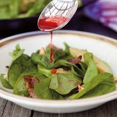 Bacon, Hazelnut and Avocado salad recipe - Women's Health & Fitness