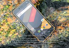 NOMU S10 Rugged Android Phone - Android 6.0, IP68, Quad-Core CPU, 5 Inch IPS Display,4G, Dual-IMEI