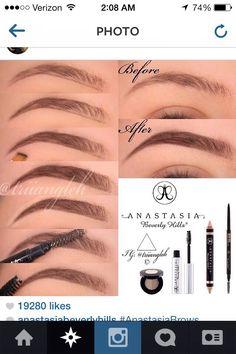 makeupchrisspy  makeup best eyebrow products