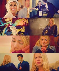 Ten & Rose. Le sigh, le sigh, le sigh. David Tennant and Billie Piper. Gorgeous together.