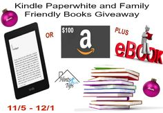 Welcome to the Kindle Paperwhite (or $100 Amazon GC) and 15 Family Friendly Books Giveaway. Enter below for a chance to win this amazing giveaway! Good luck to everyone who enters :) Enter for a ch…