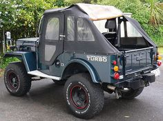 Mitsubishi Jeep Turbo Cj Jeep, Jeep Willys, Expedition Truck, Toyota, Off Road Adventure, Jeep Parts, Jeep Accessories, Four Wheel Drive, Truck Camper