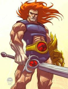 Alright, I can wait no longer Heres this mornings warmup of THUNDERCATS for The toontastic coalition ( [link] _ theme of this month by the Sword. Lion-O Thundercats - ATU Best 80s Cartoons, Old School Cartoons, Classic Cartoons, Cartoon Fan, Cartoon Shows, Cartoon Pics, He Man Thundercats, Group Of Cats, Lion