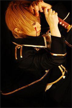 shokichi(小吉) Sougo Okita Cosplay Photo