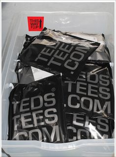 Nice packaging there Ted