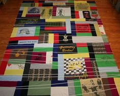 How to Make an Out-of-the-Ordinary T-Shirt Quilt: Part Two - CraftStylish