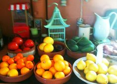 Kitchen in Kefalonia. Photo by Thalia. Thalia, Homes, Stuffed Peppers, Vegetables, Kitchen, Food, Houses, Cooking, Stuffed Pepper