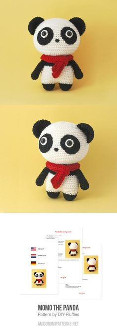 Momo The Panda Amigurumi Pattern