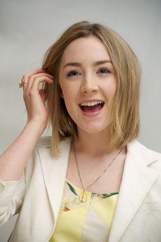 """Saoirse Ronan- Pronounced """"Sersha"""" Ronan"""