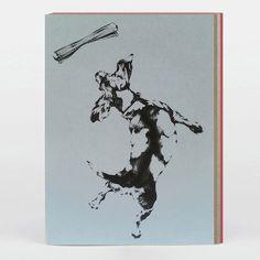 Handmade Dog Greetings Cards by Katrina Wight