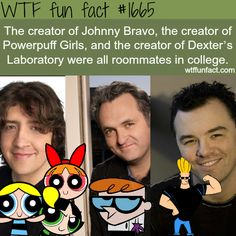 WTF Facts : funny, interesting & weird facts and seth McFarlane created Johnny bravo? Wow Facts, Wtf Fun Facts, True Facts, Funny Facts, Funny Memes, Hilarious, Random Facts, Crazy Facts, Random Stuff