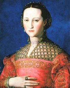 Eleonora Álvarez de Toledo y Pimentel-Osorio, nome completo de Eleonora de Toledo (Alba de Tormes, 1519 - Pisa; 17 de dezembro de 1562), aristocrata espanhola, duquesa de Florença desde 1537 e Grã-duquesa de Toscana desde 1539. quadro de Bronzino.