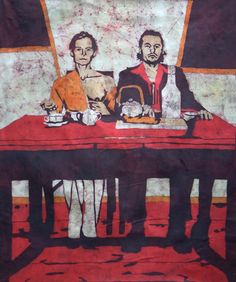 Katarzyna Wolicka, batik  #art #batik #wax