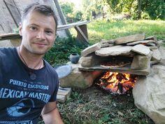 My stone primitive oven...