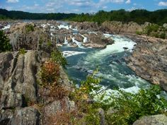 Great Falls National Park, Virginia...it also crosses into Maryland
