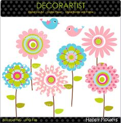 Hey, I found this really awesome Etsy listing at https://www.etsy.com/listing/85252232/flower-clip-art-bird-clip-art-digital