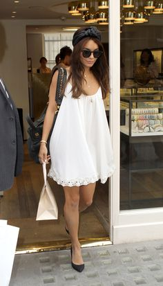 Babydoll dresses make a fashion comeback - Vanessa Hudgens