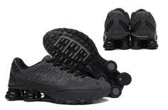 Nike Shox Turbo 21 KPU Men Shoes Sneakers Total Black