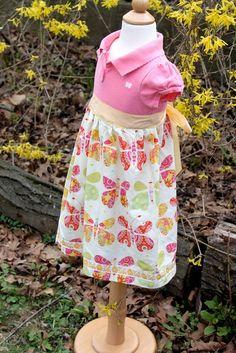 little girl dress sewing inspiration