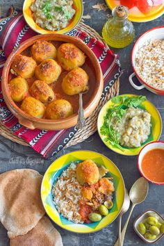 Meat stuffed potatoes batata mahshieh. A treat from the middle east that will change the way you think of stuffed potatoes